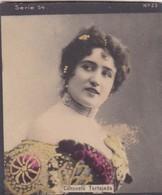 CONSUELO TORJADA. COLORISE. CARD TARJETA COLECCIONABLE TABACO. CIRCA 1915 SIZE 4.5x5.5cm - BLEUP - Berühmtheiten