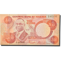 Billet, Nigéria, 10 Naira, 1984, KM:25c, NEUF - Nigeria