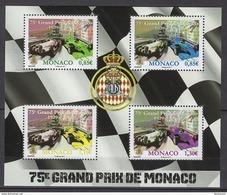 MONACO 2017 BLOC /Y. T. N°3080 A 3083- ( 75e GRAND PRIX DE MONACO )  NEUF** - Blocchi