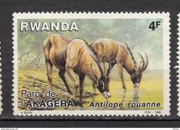 ##1, Rwanda, Antilope, Parc De L'Akagera, Gibier, Park - Rwanda