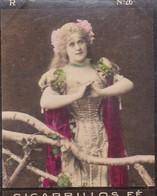 DIETRICH. CIGARRILLOS FE. COLORISE. CARD TARJETA COLECCIONABLE TABACO. CIRCA 1915 SIZE 4.5x5.5cm - BLEUP - Berühmtheiten