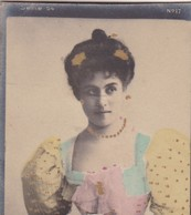 PETIT. COLORISE. CARD TARJETA COLECCIONABLE TABACO. CIRCA 1915 SIZE 4.5x5.5cm - BLEUP - Berühmtheiten