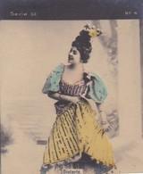 DIETERLE. COLORISE. CARD TARJETA COLECCIONABLE TABACO. CIRCA 1915 SIZE 4.5x5.5cm - BLEUP - Berühmtheiten