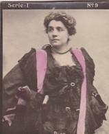 DUSE. HABANILLOS LA PLATA. COLORISE. CARD TARJETA COLECCIONABLE TABACO. CIRCA 1915 SIZE 4.5x5.5cm - BLEUP - Berühmtheiten