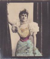 SIGRID ARNOLDSON. COLORISE. CARD TARJETA COLECCIONABLE TABACO. CIRCA 1915 SIZE 4.5x5.5cm - BLEUP - Berühmtheiten