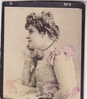 GALLOIS. COLORISE. CARD TARJETA COLECCIONABLE TABACO. CIRCA 1915 SIZE 4.5x5.5cm - BLEUP - Célébrités