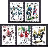 ESPAGNE 1975 N° 1890 à 1894 * * Neufs. Lot - 2422 - 1931-Aujourd'hui: II. République - ....Juan Carlos I
