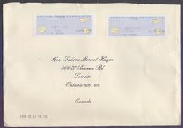 FRANCE Postal History Big Cover, Used 23.11.2012, ATM FRAMA Stamped - France