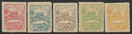 Spain 1892?  5 Diff Galleons  MLH   2016 Scott Value $??? - 1889-1931 Königreich: Alphonse XIII.