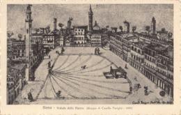 R164998 Siena. Veduto Della Piazza - Cartoline