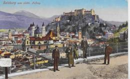 AK 0206  Salzburg Vom Elektr. Aufzug Aus Gesehen Um 1913 - Salzburg Stadt