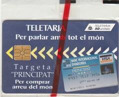 TELETARJA...PRINCIPAT D'ANDORRA...50 UNITATS...NEUVE SOUS BLISTER - Andorre