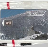 TELETARJA...PRINCIPAT D'ANDORRA...100 UNITATS...NEUVE SOUS BLISTER - Andorra