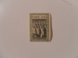 FRANCE TIMBRE J.O. PARIS 1924* - Commemorative Labels