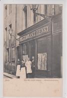 57 METZ   Restaurant HENRY  Rue Des Petits Enfants - Metz