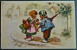 Germaine BOURET - Bonjour Ma Payse ! - Voyagé En 1959 De ST Mihiel Vers Colonie Algérie - A.F.N. Militaria - Bouret, Germaine