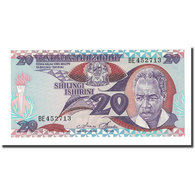 Billet, Tanzania, 20 Shilingi, Undated (1986), KM:12, NEUF - Tanzania