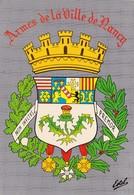 Armes De La Ville De Nancy - Armoiries - Emblême - Ecusson - Héraldique - Nancy