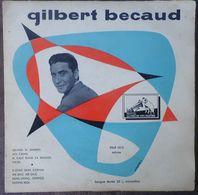 33 TOURS 25 CM GILBERT BECAUD -- QUAND TU DANSES - Autres - Musique Française