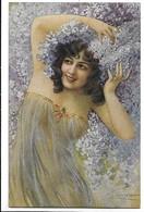 Femme - Woman - Donnina Sexi - Erotica. Illustratore G. Guerzoni. - Illustrateurs & Photographes