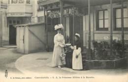 88 - CONTREXEVILLE - VITTEL - S.A. La Princesse Hélène à La Buvette - Vittel Contrexeville