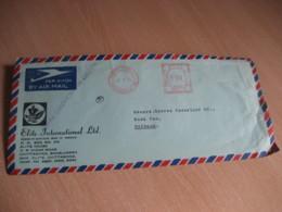 CHITTAGONG 1975 To Netherlands Elite Meter Mail Cancel Air Mail Cover BANGLADESH - Bangladesh