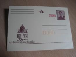 PP Pro-Post 30 Jaar SPECIMEN Postal Stationery Card BELGIUM - Stamped Stationery