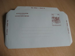 B 82 17 F 1982 Aerogramme Air Letter BELGIUM - Stamped Stationery