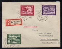 IDAR OBERSTEIN - ALLEMAGNE - III REICH / 1941 LETTRE  RECOMMANDEE  POUR METZ - EINSCHREIBEBRIEF (ref LE3387) - Germany