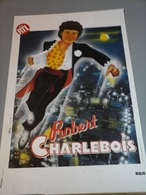 Affiche - De Robert Charlebois Pub RTL - Posters