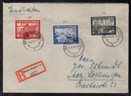 BERLIN STEGLITZ - ALLEMAGNE - III REICH / 1941 LETTRE  RECOMMANDEE  POUR METZ - EINSCHREIBEBRIEF (ref LE3392) - Germany