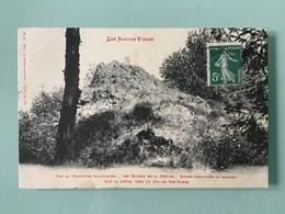 Col De Ste MARIE . Sur La Frontière Allemande. - Les Roches De La Chèvre - Borne Frontière Au Sommet - Sainte-Marie-aux-Mines