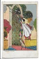 Femme - Woman - Donnina. Illustratore Scattina. Pierrot - Corriere D'amore. - Illustrators & Photographers