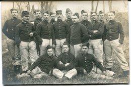 CPA - Carte Postale - Militaria - Photo De Groupe - Régiment - Militaires (M8021) - Regiments