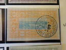 TIMBRE COLONIE FRANCAISE COTE DES SOMALIS N°14  OBLITERE - Costa Francesa De Somalia (1894-1967)