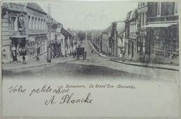 Bonsecours – La Grand'Rue Avec Attelage - Péruwelz