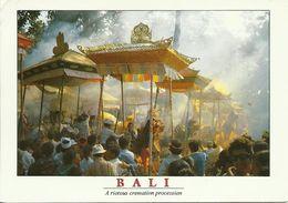 AK Indonesien Bali Cremation Procession Farbfoto #0105 - Indonesien