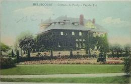 Bellecourt Château Du Pachy Façade Est - Manage