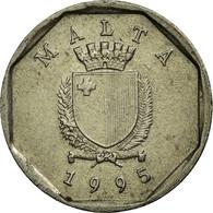 Monnaie, Malte, 5 Cents, 1995, TTB, Copper-nickel, KM:95 - Malta
