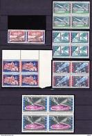 België 1958 Nr 1047/52 Kleine Verzameling **,in Blok Van 4( Nr 1047 Duo), Zeer Mooi Lot 3658 - Timbres