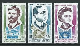 AFARS ET ISSAS 1974 . Poste Aérienne  N°s 97 , 98 Et 101 . Neufs ** (MNH) - Afar- Und Issa-Territorium (1967-1977)