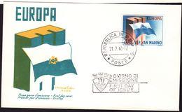 San Marino 1963, FDC Europe - FDC