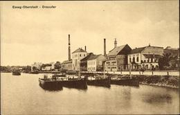 Cp Esseg Oberstadt Kroatien, Drauufer, Schiffe, Wasserpartie - Croatia