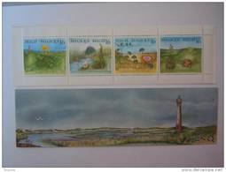 België Belgique Belgium 1994 Wilde Planten Bloemen Fleurs Sauvages COB C25 B25 Yv 2572-2575 C2572 MNH **carnet - Carnets 1953-....
