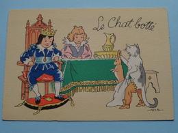 Le Chat Botté ( Jack > BD 1489 I > Imp. France ) Anno 19?? ( Voir Photo ) ! - Contes, Fables & Légendes