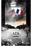 75 PARIS  -  WELCOME TO THE AMERICAN LEGION - Arc De Triomphe
