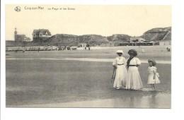 De Haan - La Plage Et Les Dunes. - De Haan
