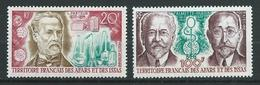 AFARS Et ISSAS 1972 . Poste Aérienne N°s 76 Et 77 . Neufs ** (MNH) - Afar- Und Issa-Territorium (1967-1977)