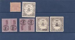 FISCAUX Et COLIS POSTAUX ,PETIT PETIT PRIX ,2scans - Stamps