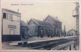 Hemiksem Station En Spoor La Gare (Reproduction - Photo) - Hemiksem
